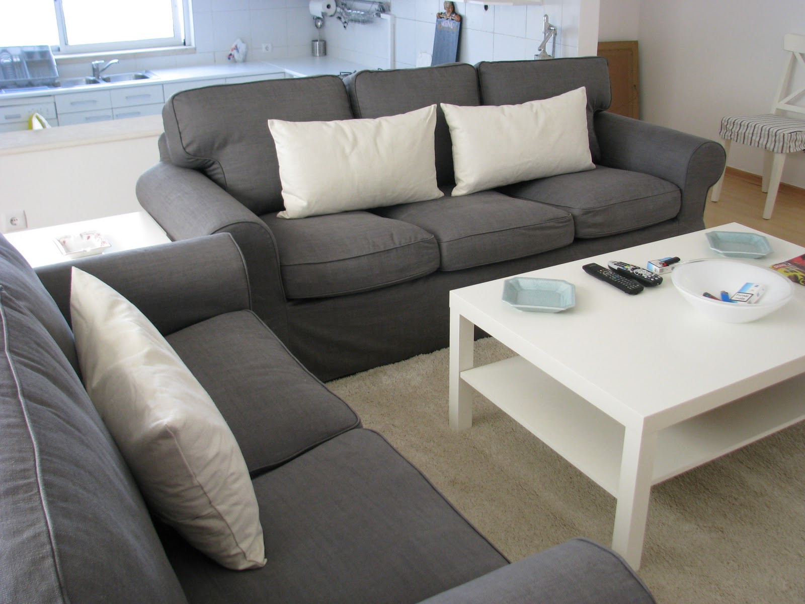 Gray And White Sofa Maison Douce Mom 39s Guest House
