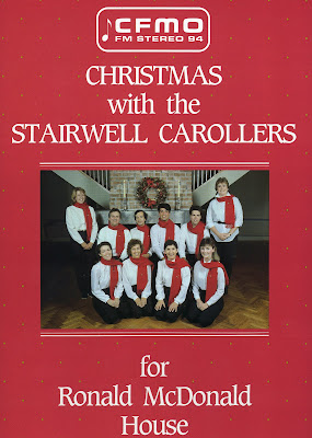 The Stairwell Carollers first recording
