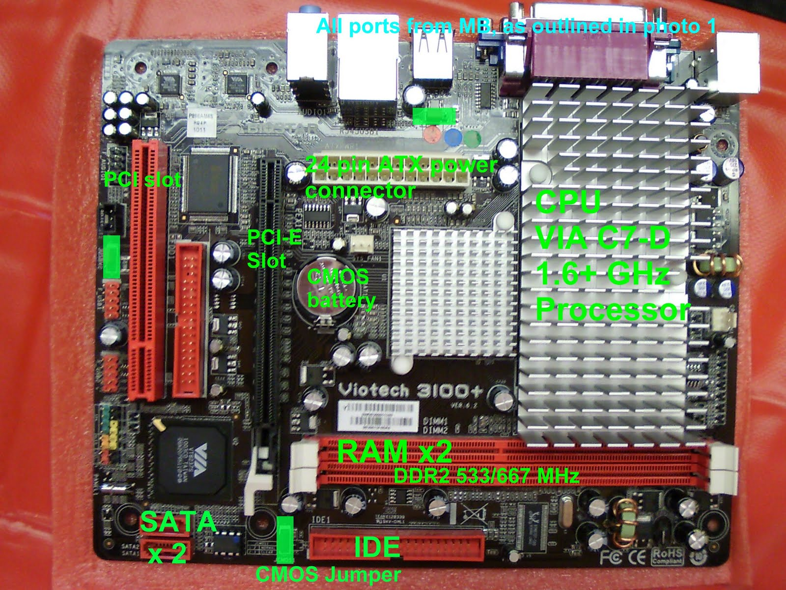 Atx Motherboard Diagram Http Wwwtigerdirectcom Applications