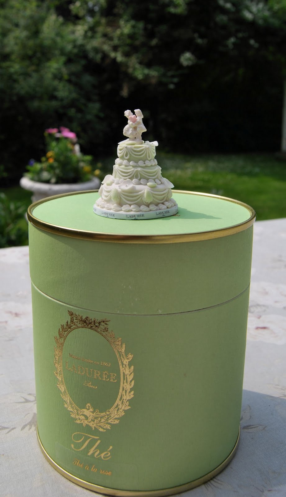 Christel Jensen Laduree Mini Wedding Cake