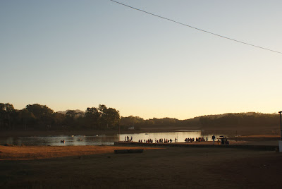 View of the Pachmarhi Lake, not very big