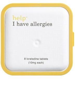 help: I have allergies
