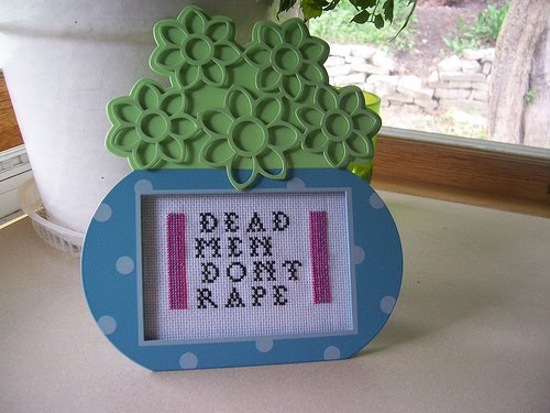 "SOMETHINGTO THINK ON, SEE RELATED POST, READ ESSAY ON BLOG--"" DEAD MEN DON'T RAPE"""
