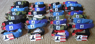 release n run collars by rad dog ready to ship
