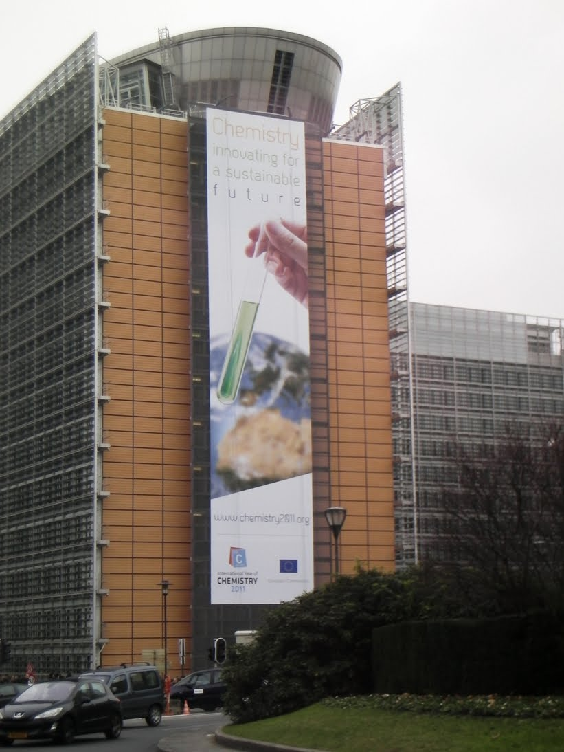RSC Belgium News: Chemistry gets big on Berlaymont