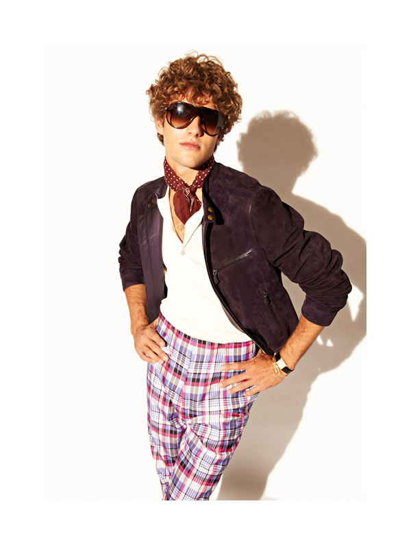Tom Ford, Fashion, plaid