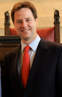 A youthful looking Nick Clegg