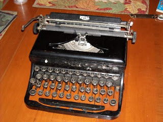 My old Royal Typewriter, c. 1930?