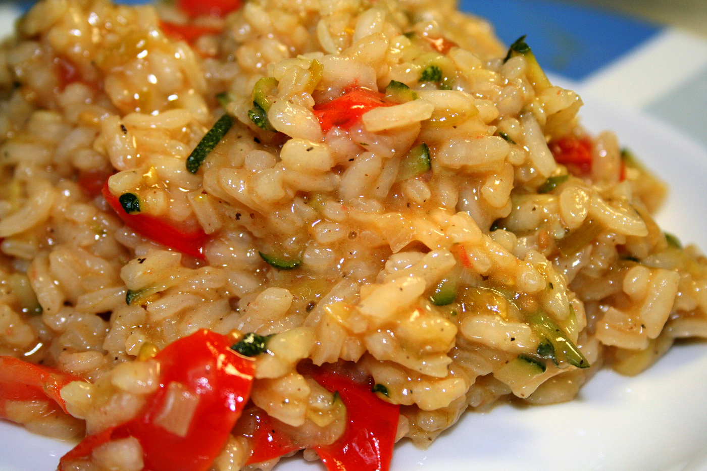 Foodies risotto with tomato and mascarpone cheese for Cucinare risotto