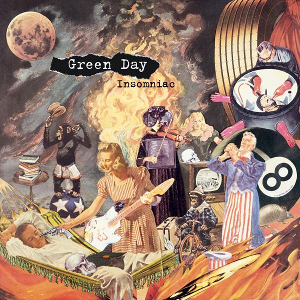 Hocilin Make Blog: Green Day - Insomniac [1995]