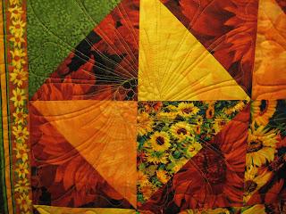 Farm Quilter Gail S Sunflower Quilt