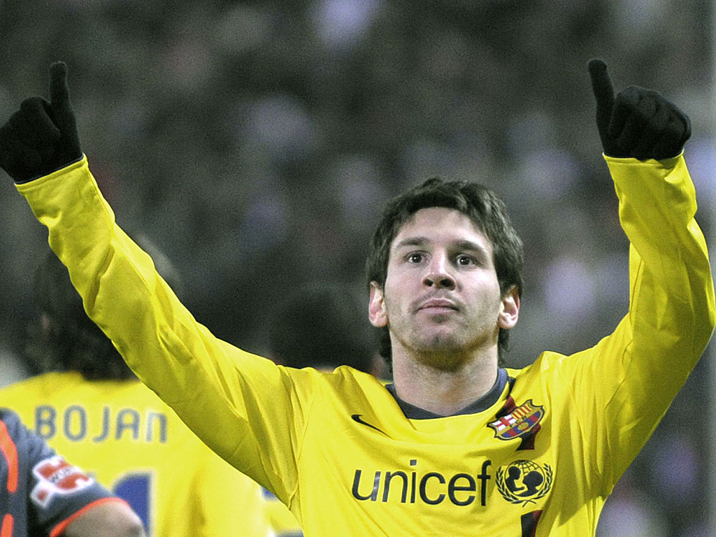 Amazing Sports Pictures: Lionel Messi Wallpapers