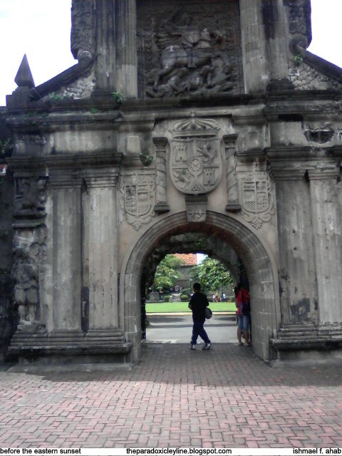 Entrance to Fort Santiago, Intramuros