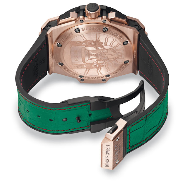 Hublot Special Edition 200th anniversary of the independence of Mexico back