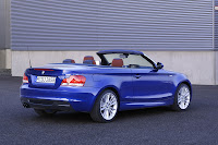 BMW 135i Convertible back