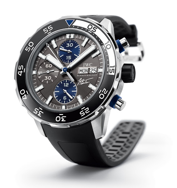 IWC Schaffhausen honours Jacques- Yves Cousteau on his 100th birthday