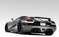 Koenigsegg Agera Super Car back