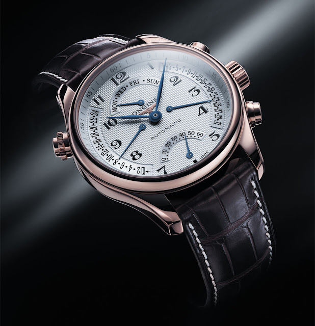 Longines Master Collection Retrograde in rose gold