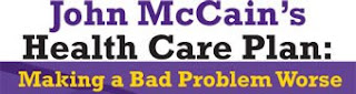 McCains healt care plan