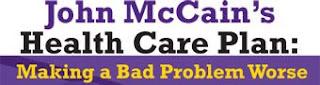McCains healt care plan