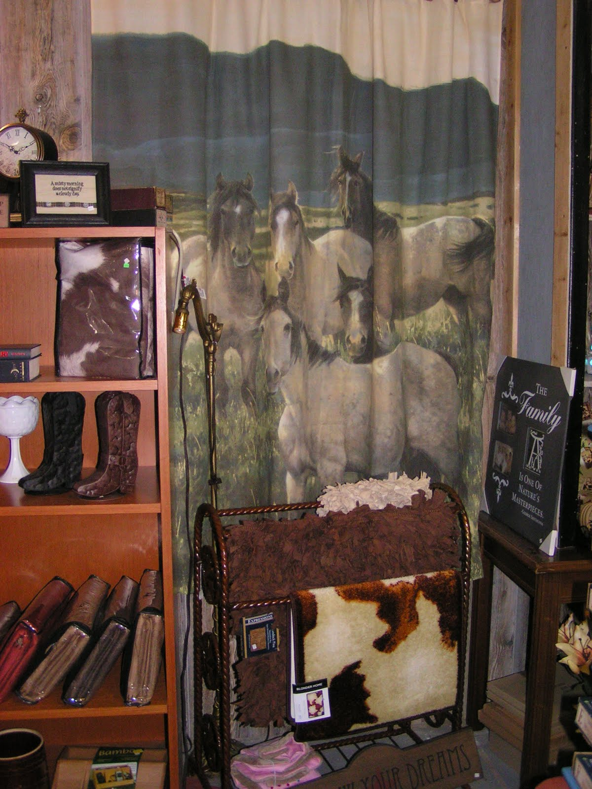 Oohs And Aahs Quinlan Texas Home Decor Western Shower