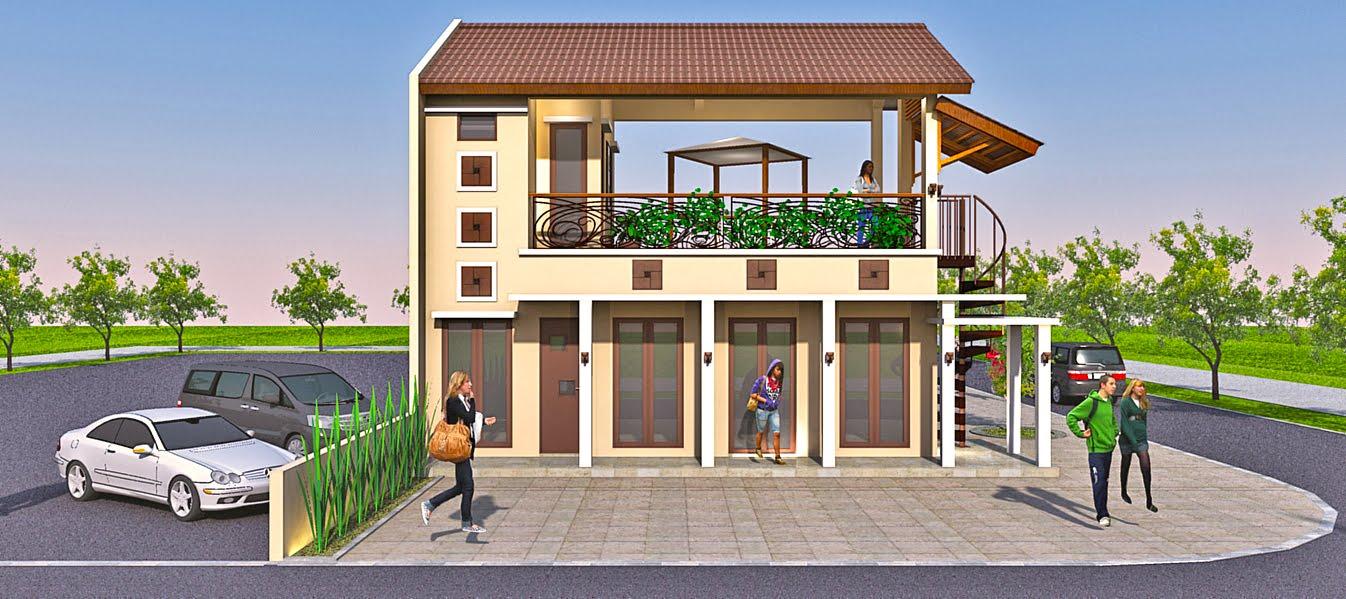 Panduan Bangunan Rumah: Desain Ruko berlokasi di Bali