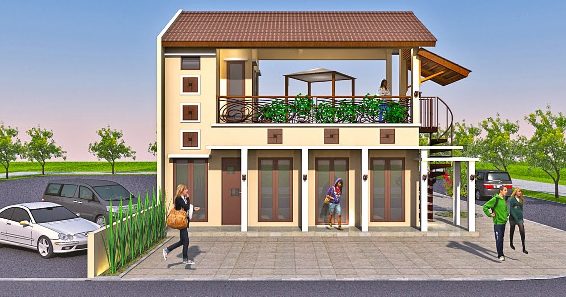 Kumpulan Desain Rumah, Berkebun: Desain Ruko berlokasi di Bali