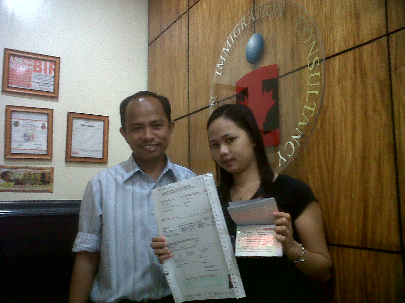 application for approval under the family assistance law