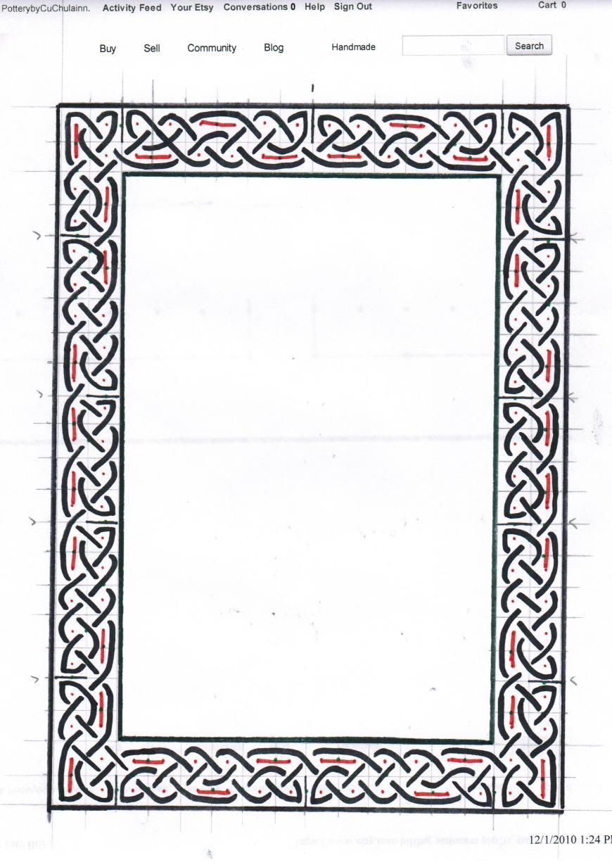 Joy Studio Design Gallery Best: Celtic Knot Border Designs