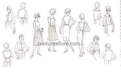Couture Allure Vintage Fashion: Vintage Vogue Pattern 196