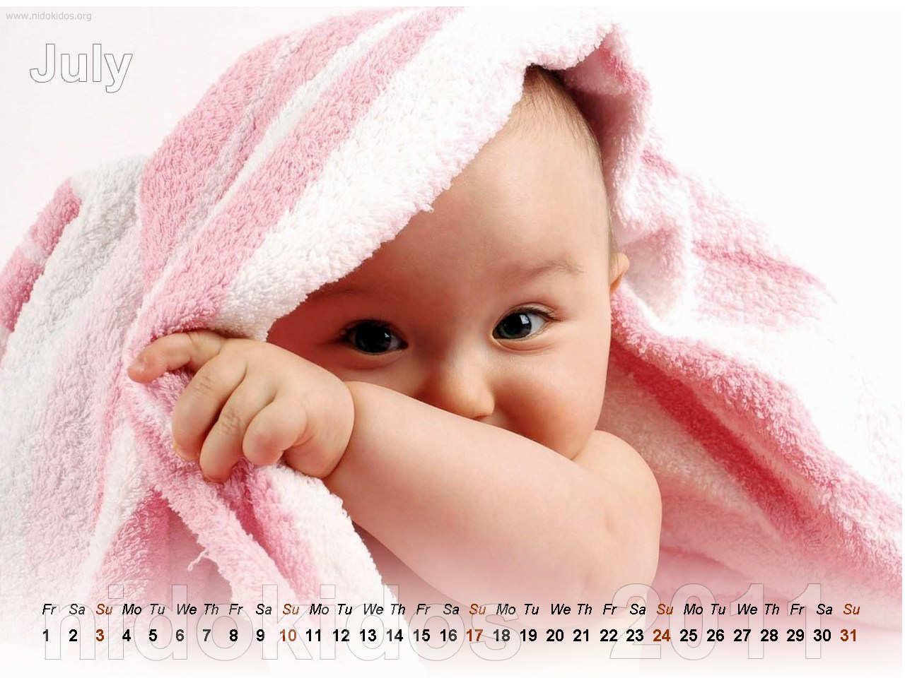 Cute Newborn Baby Images: Cute Baby Calendar 2011