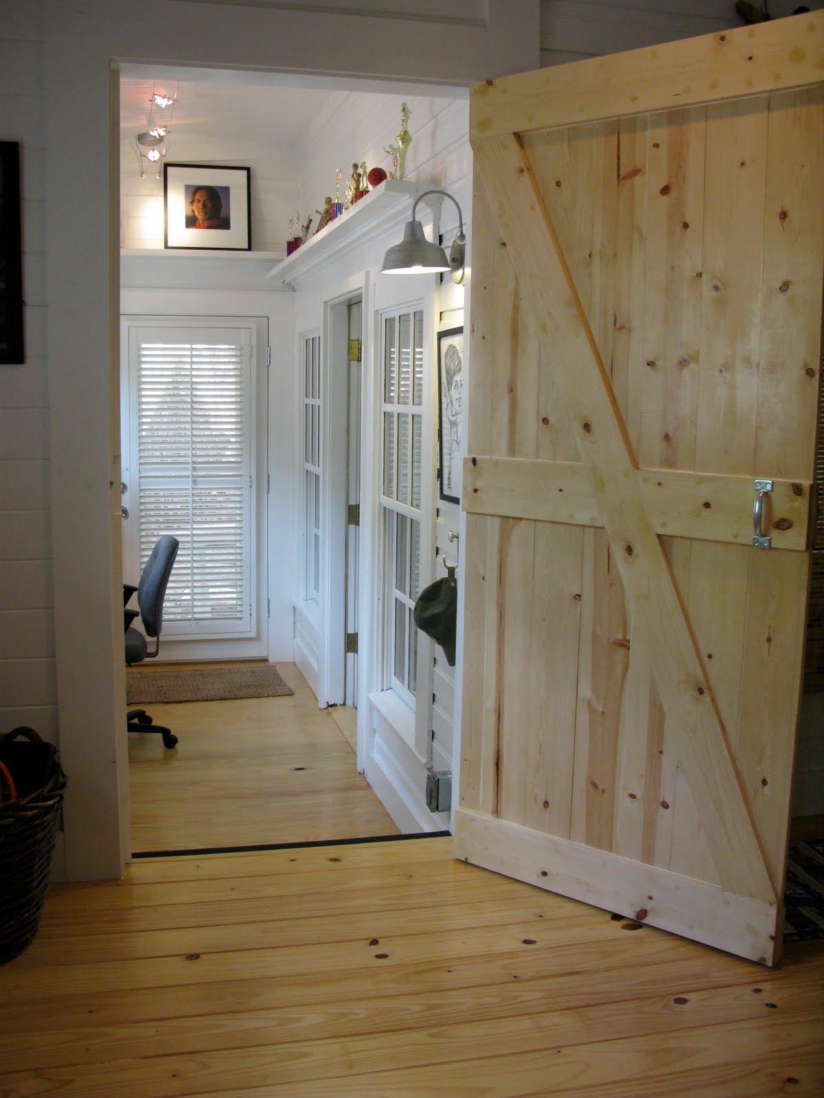 jvw home: BARN DOOR BEDROOM