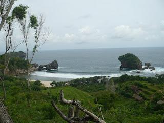 Pantai Jungwok Gunung Kidul Jogja, Ini Alamat Lokasi Rute Map Dan Harga Tiket Masuk-nya