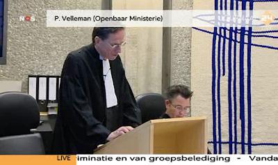 Prosecutor Velleman who also prosecuted cartoonist Nekschot