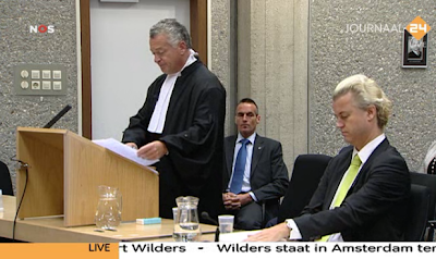 Geert Wilders trial 21 Oct. 2010