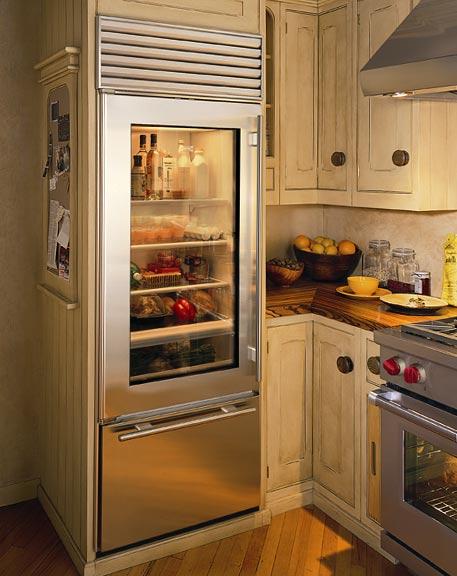 vignette design: Glass Door Refrigerators