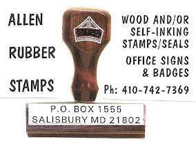 RUBBER STAMPS 410-742-7369