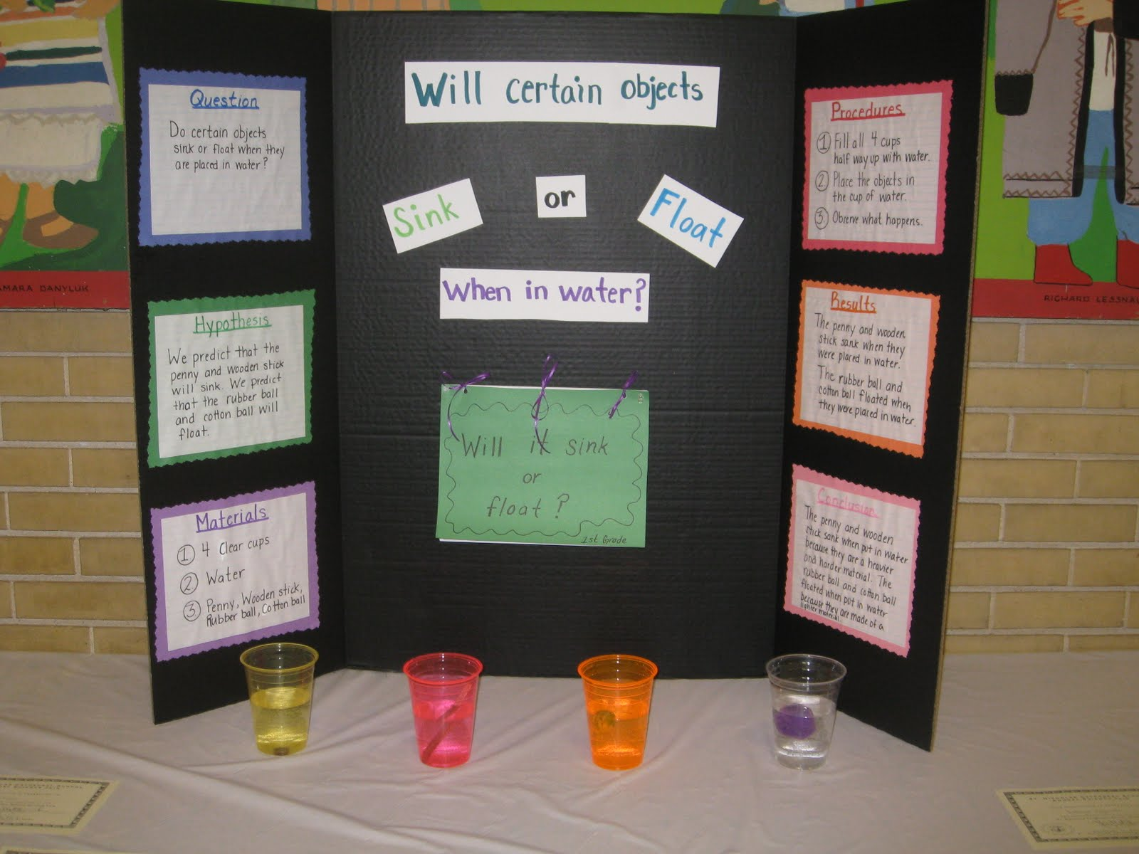 My Science Classroom Science Fair