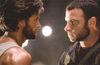Hugh Jackman as Logan/Wolverine and Liev Shreiber as Victor Creed / Sabretooth