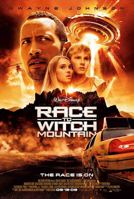 L'affiche officiel du film Race to Witch Mountain