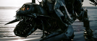 Roaring Decepticon in the movie Transformers 2
