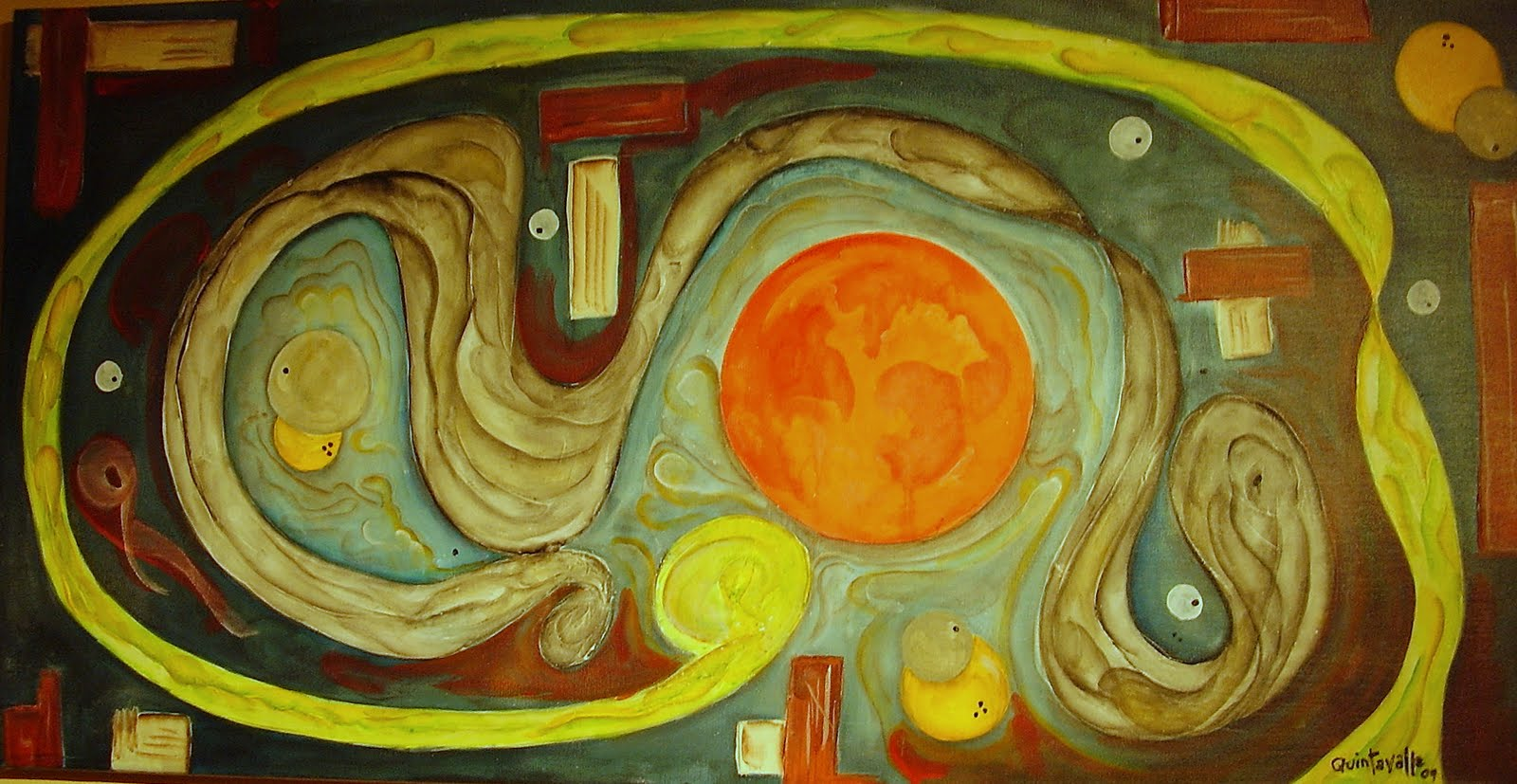 Resultado de imagen para laberinto pintura