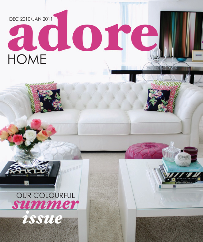 Home Magazine: Home Decor Budgetista: Adore Home Magazine