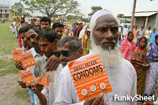Indians condoms to large tell more