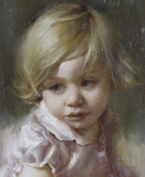 Child Portrait Oil Painting