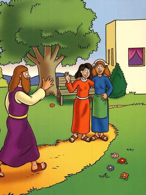 A Fam 205 Lia Que Hospedou Jesus Marta E Maria