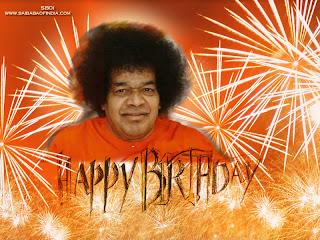 Happy Birthday Sai Baba - test