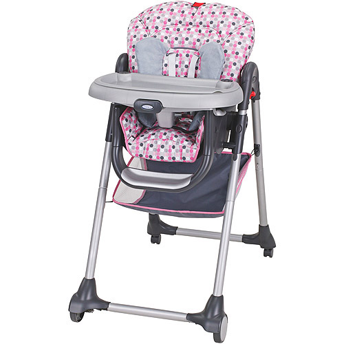 mia moda high chair pink m s dining covers hopes pretty real these girly options really tested my practicality doesn t princess deserve a graco ally