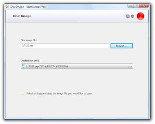 iso - BurnAware (Nero Replacement) Free for Windows 7