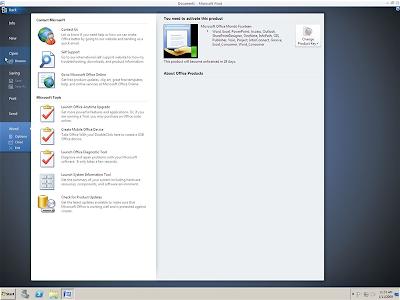 Microsoft Office 14 Alpha screenshots leak 3